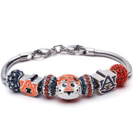 Love Auburn University Bracelet Jewelry