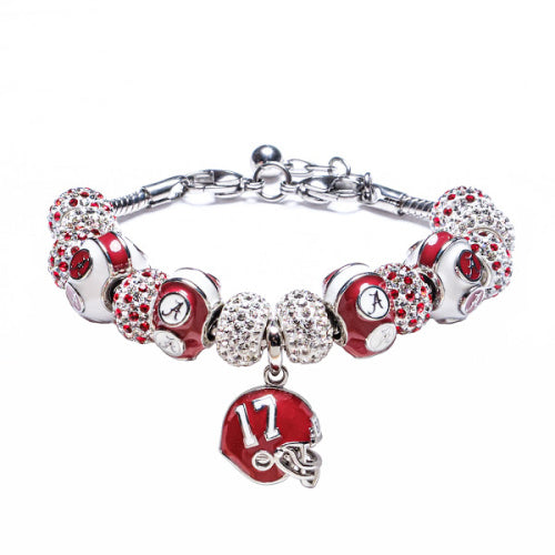 Alabama Bead Charm Bracelet Jewelry-#17
