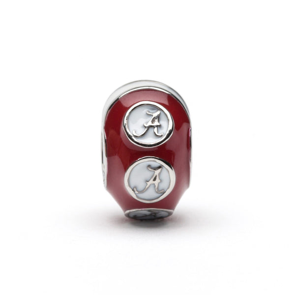 University of Alabama Jewelry Helmet Charm and Bead Set of Three