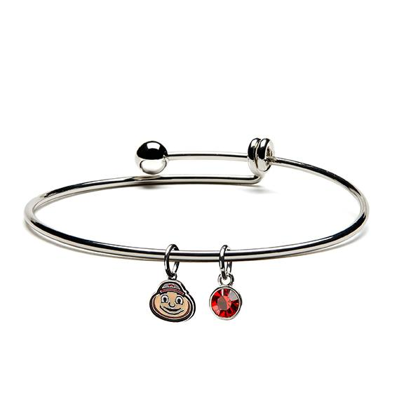 Brutus Buckeye Dangle Bracelet
