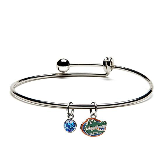 Florida Gators Jewelry Bangle Bracelet - University of Florida Jewelry