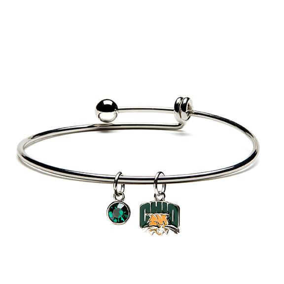 Ohio University Bobcats Dangle Bangle Bracelet