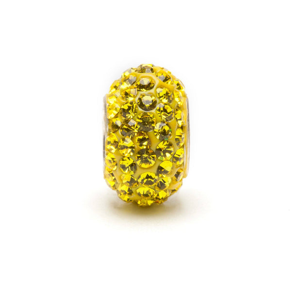 Yellow Crystal Charm