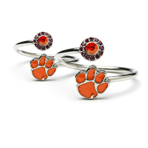 Gift Set-One for You One for Me Clemson Tigers Rings