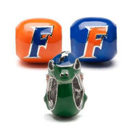 University of Florida Gators Three Bead Charm Set - Stainless Steel