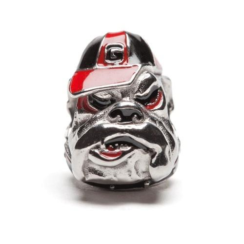 Georgia Bulldogs Bead Charm Bracelet Jewelry