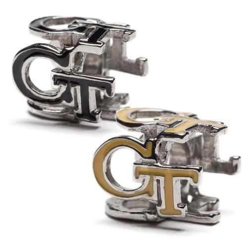 Georgia Tech Yellow Jackets GT Gold and Black Bead Charm Set