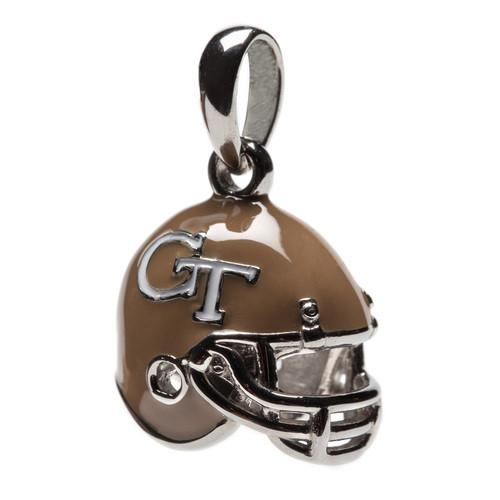 Georgia Tech Football Helmet Charm Pendant