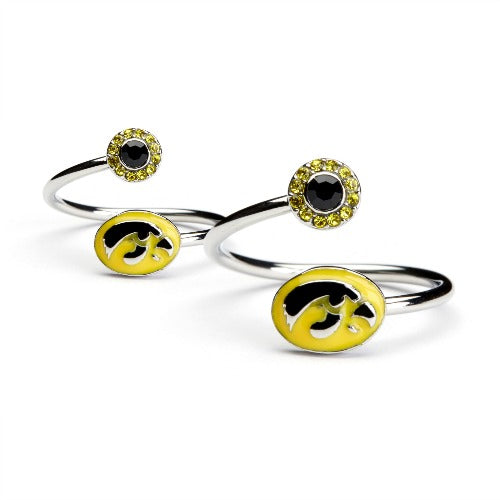 Gift Set-Iowa Hawkeyes One for You and One for Me Rings