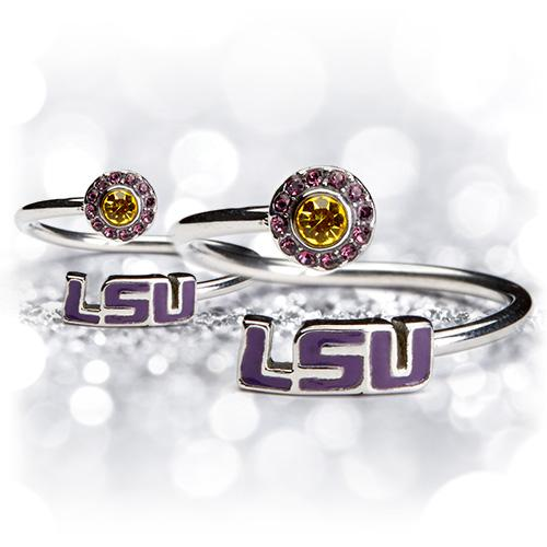Gift Set- LSU One for You and One for Me Rings