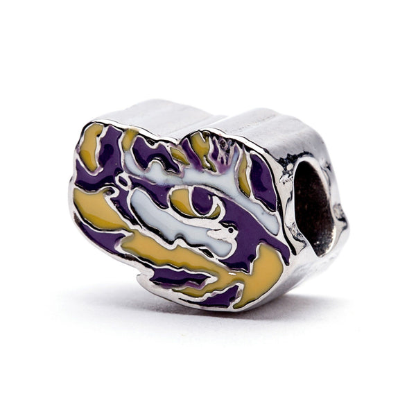 LSU Tigers Bead Charm Set of Two