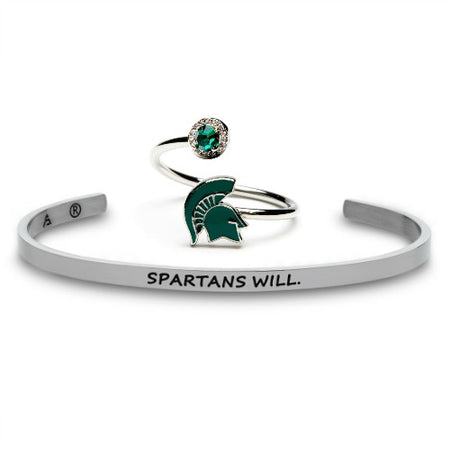 Michigan State Forever Sparty Bracelet