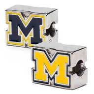 University of Michigan Bead Charm Block Set
