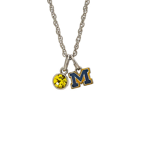 Gift Set-Love University of Michigan Ring and Necklace