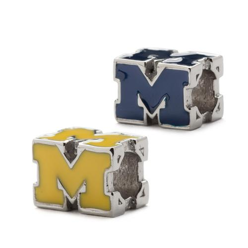 University of Michigan Charm Set of Two