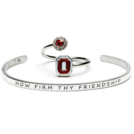 Auburn University Go Tigers Orange AU Crystal Bangle