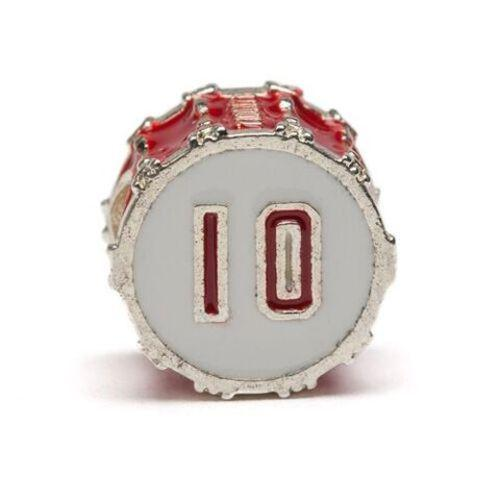 Ohio State OH-IO Red Drum Bead Charm Set