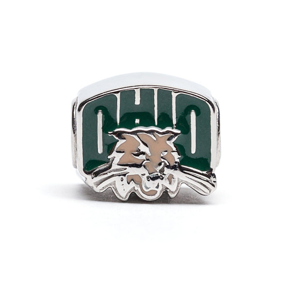 Ohio University Bobcats Bead Charm Set of Two