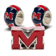 University of Mississippi Bead Charm Set