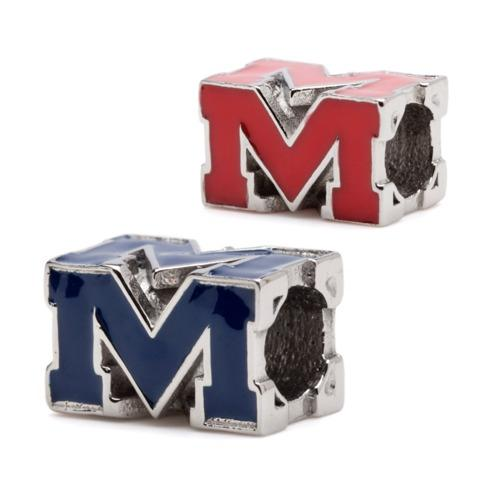 Block M Ole Miss Set of Two