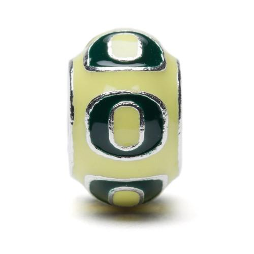University of Oregon Ducks Bead Charm Set of Two
