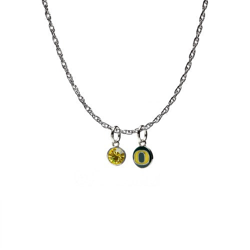 Oregon Ducks Charm Necklace