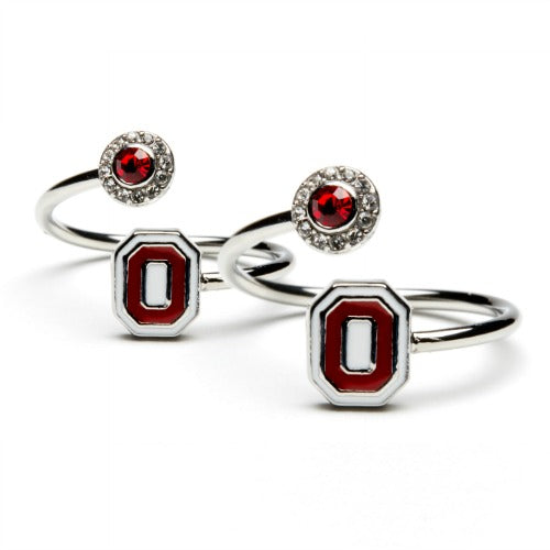 Gift Set- Ohio State One for You and One for Me Rings