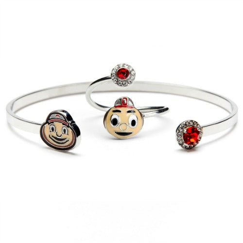Gift Set-Love Ohio State Brutus Ring and Bangle
