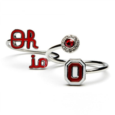 Ohio State Necklace- Block O
