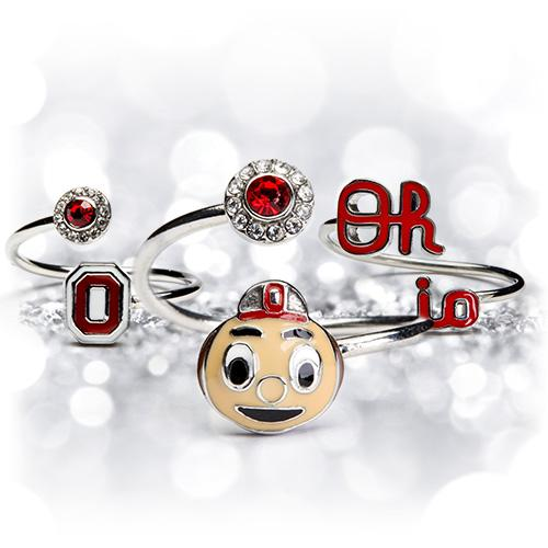 Gift Set- Ohio State BDFITL Three Ring Set