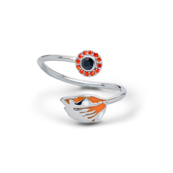 Gift Set-Oregon State Beavers One for You and One for Me Rings