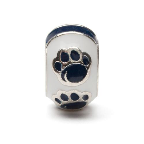 Penn State Bead Charm Set of Two - PSU Paw