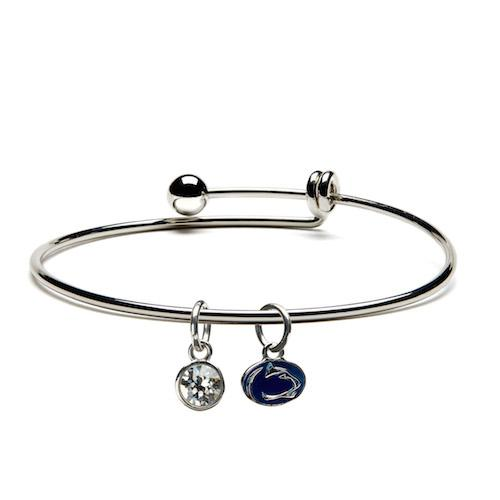 Penn State Nittany Lions Dangle Charm Bracelet