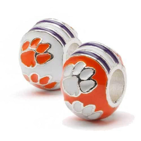 Syracuse University Orange Mascot Bead Charm