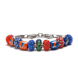 Florida Gators Gift - Biggest Fan Charm Bracelet