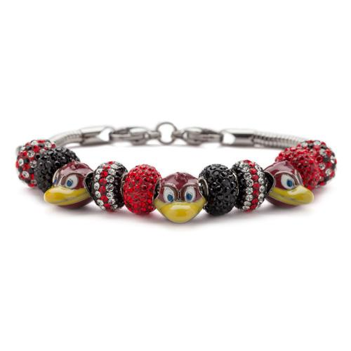 Gift Set- Ultimate USC Gamecocks Fan Charm Bracelet and Ring