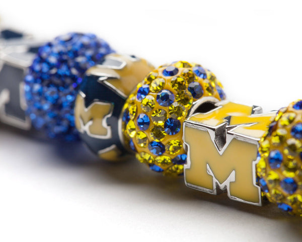 University of Michigan Charm Bracelet Jewelry