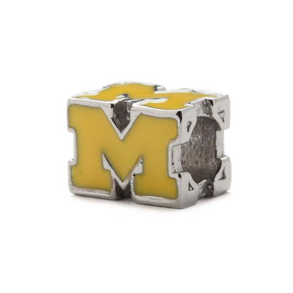 Michigan Wolverines Maize Block M