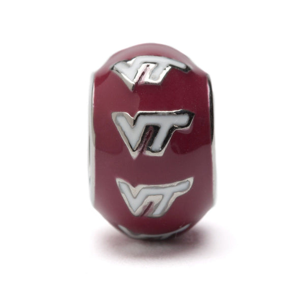 VT Hokies Jewelry Charm - Maroon and White