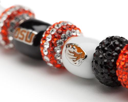 Gift Set- Ultimate Oregon State Beavers Fan Charm Bracelet and Ring