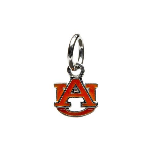 Auburn University Orange AU Dangle Charm