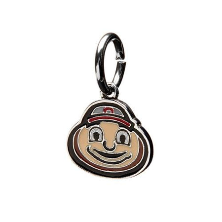 University of Georgia Bead Charm Jewelry - Red Round Charm