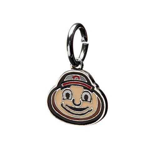 Brutus Ohio State Charm Dangle Pendant