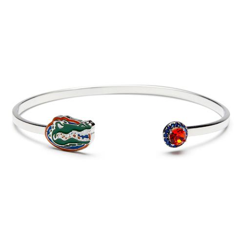 Florida Gator Bracelet Jewelry - Adjustable Bangle