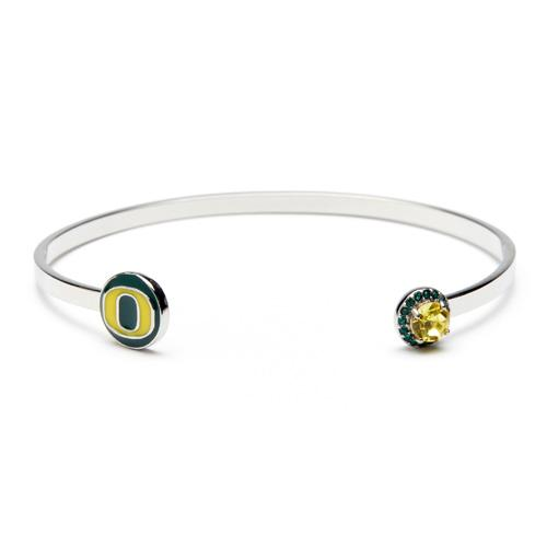Oregon Ducks Bangle Bracelet