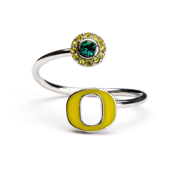 Oregon Ducks Ring - Yellow O