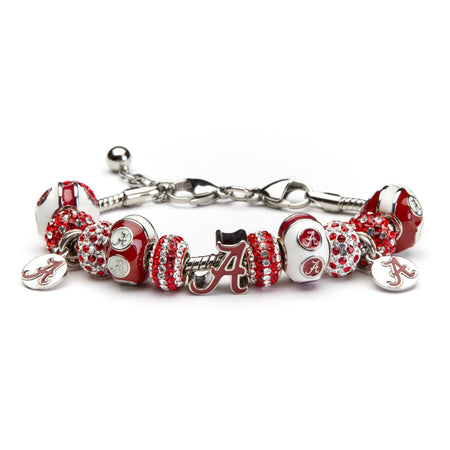 Alabama Bead Charm Bracelet Jewelry
