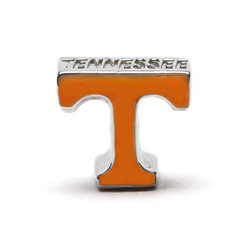 Tennessee Volunteers Football Bead Charm Bracelet