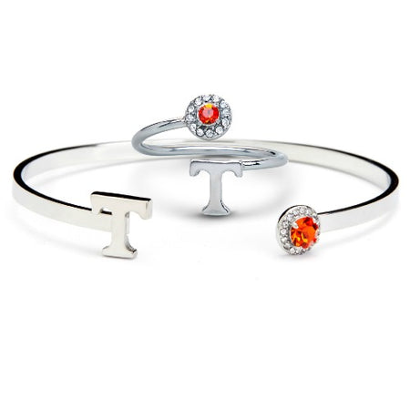 OSU How Firm Thy Friendship Stainless Steel Bangle Bracelet