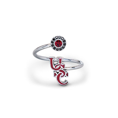 Gift Set-USC Gamecocks One for You and One for Me Rings
